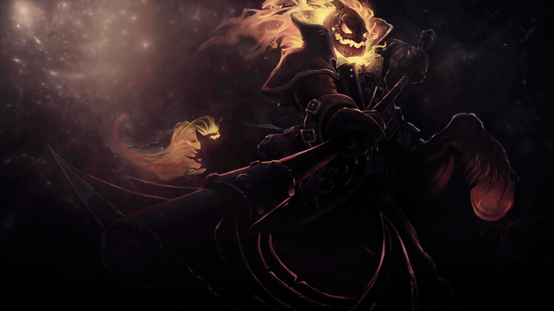 Monsters Scythe Fantasy halloween dark wallpaper ...