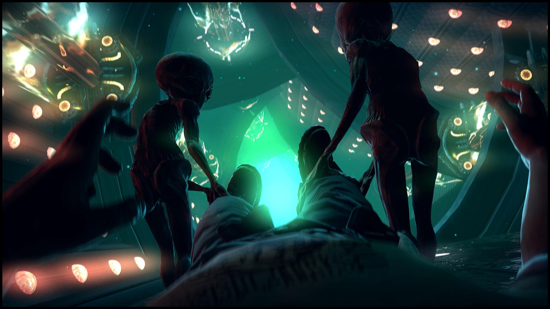 Supernatural beings Aliens alien dark spaceship wallpaper ...