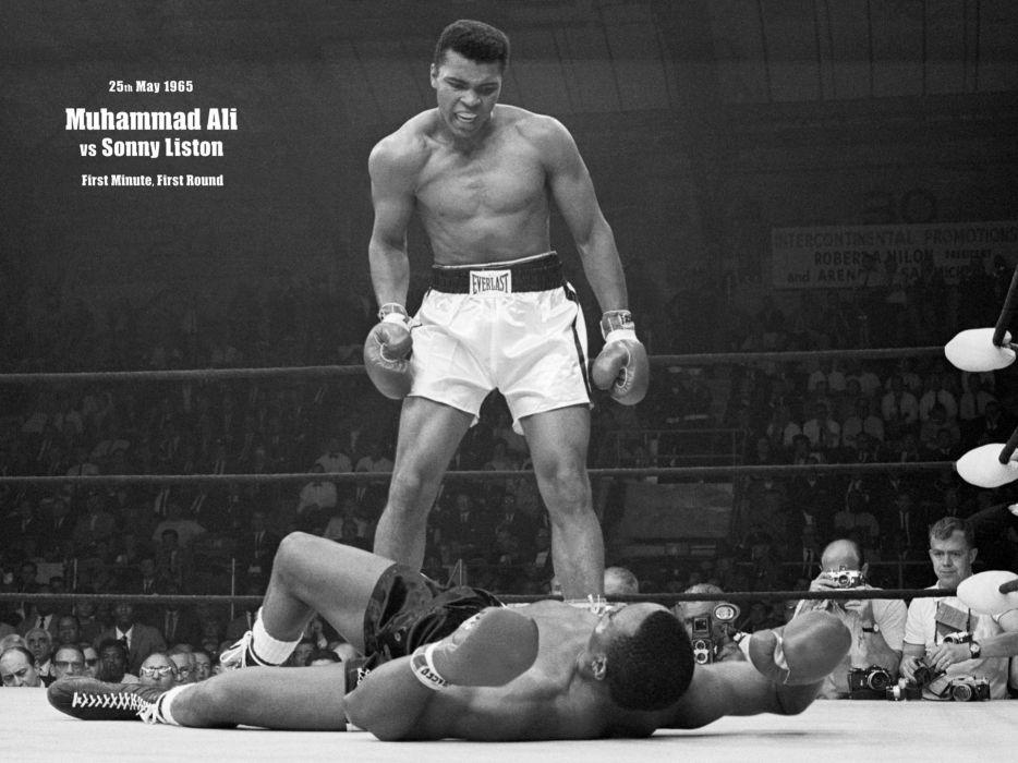 boxing MUHAMMAD ALI VS SONNY LISTON wallpaper