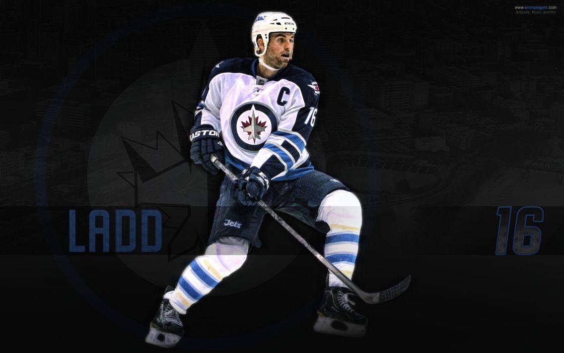 Hockey Andrew Ladd Winnipeg Jets Wallpaper 1600x1000