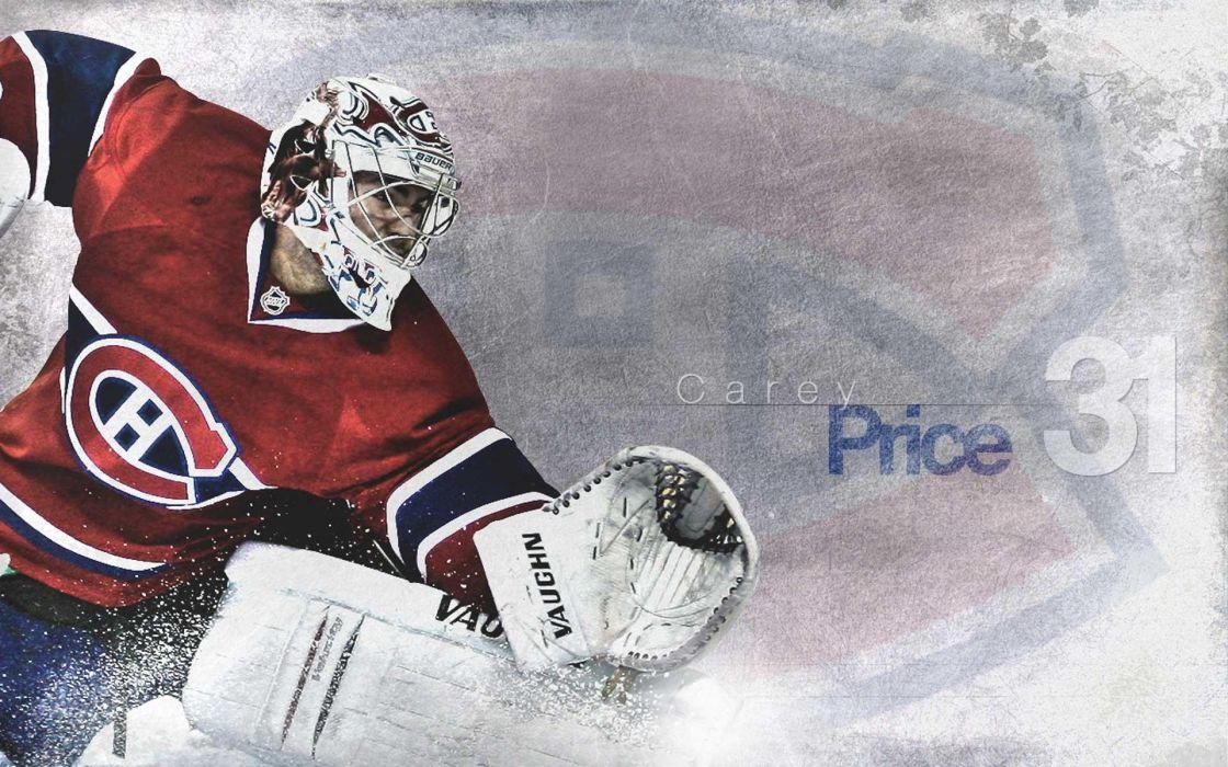 hockey Carey Price Montreal Canadiens wallpaper