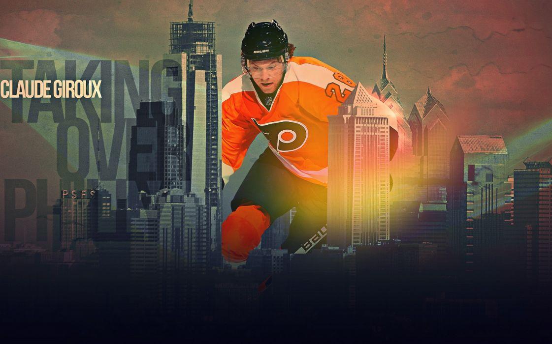 Hockey Claude Giroux Philadelphia Flyers Wallpaper
