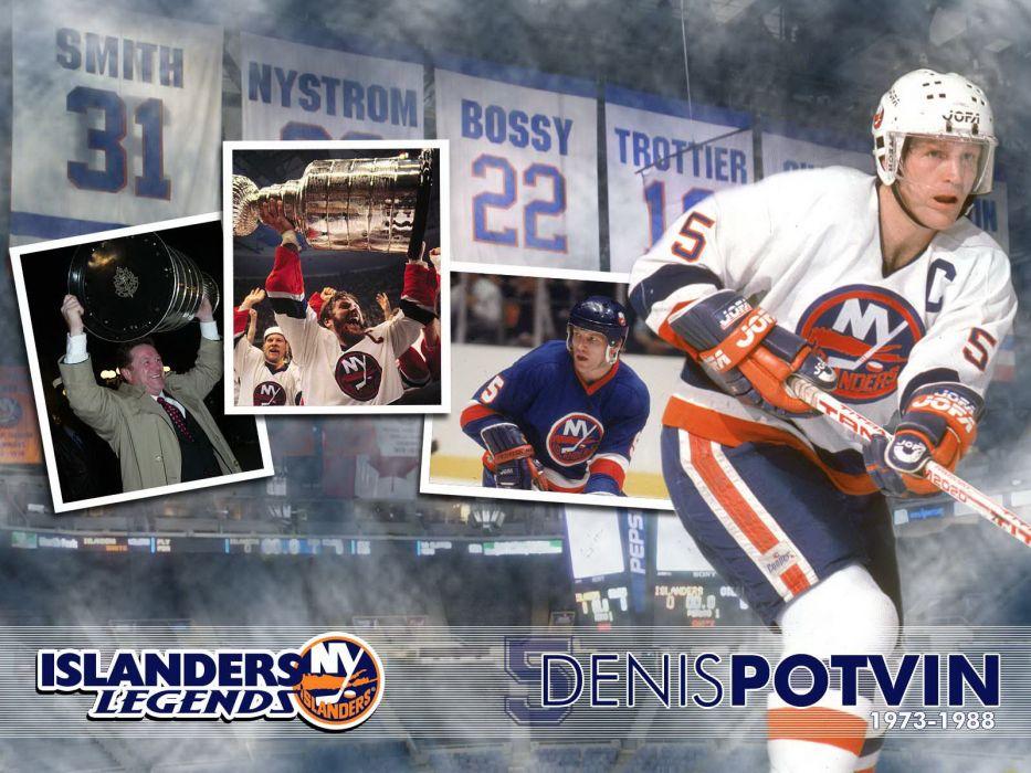 hockey Denis Potvin New York Islanders wallpaper