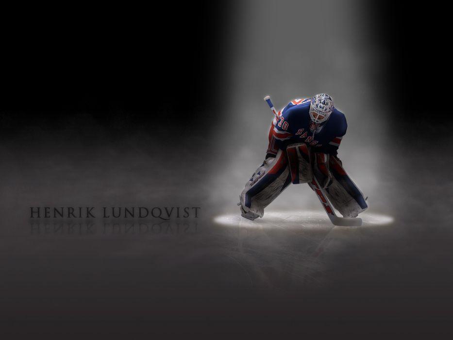 hockey Henrik Lundqvist New York Rangers wallpaper