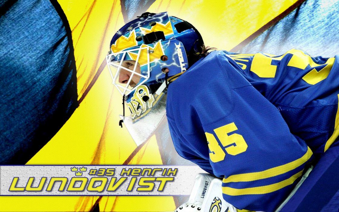 hockey Henrik Lundqvist Swedish Hockey wallpaper