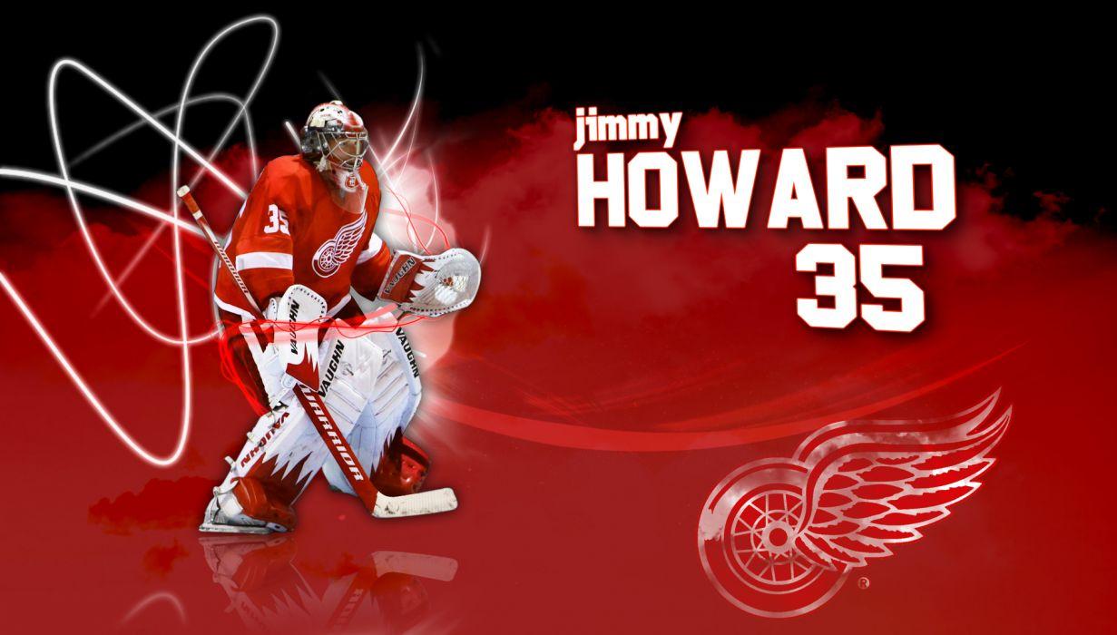 Hockey Jimmy Howard Detroit Red Wings Wallpaper 1900x1080