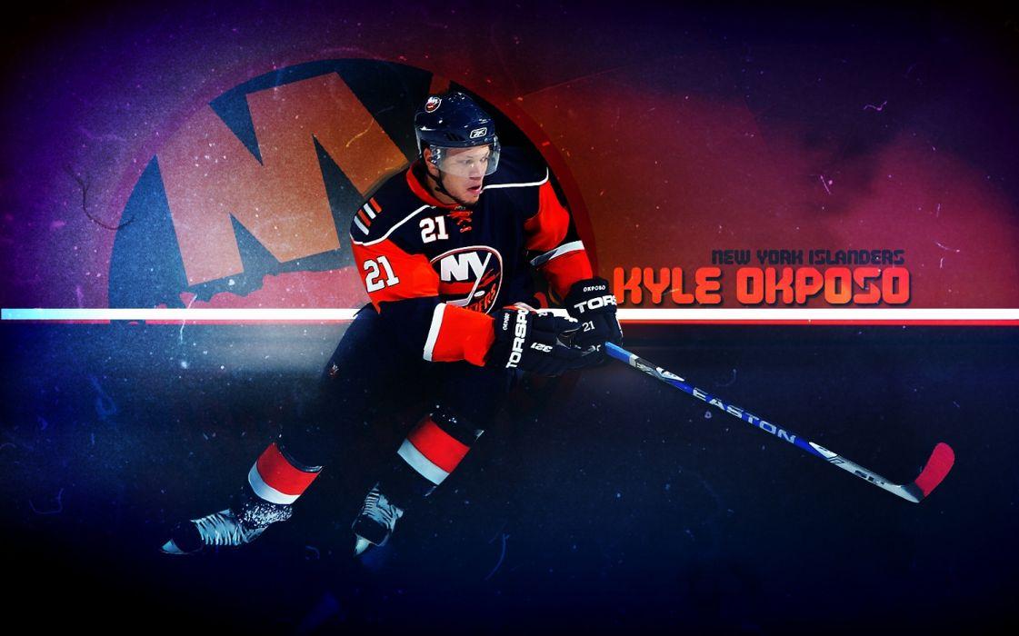 Hockey Kyle Okposo New York Islanders Wallpaper