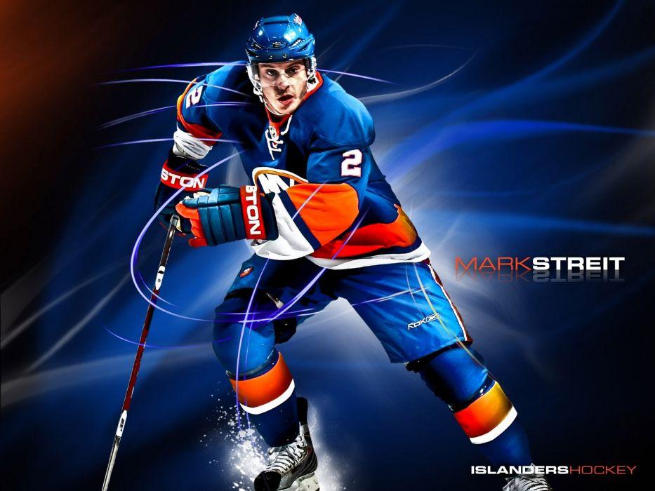 Hockey Mark Streit New York Islanders Wallpaper