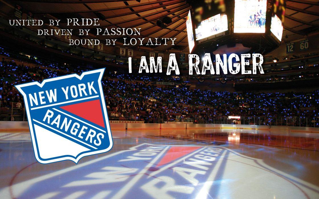 Hockey New York Rangers wallpaper