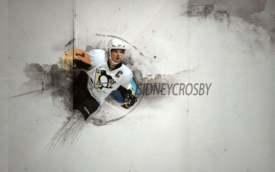 Hockey Nhl Sidney Crosby Pittsburgh Penguins H Wallpaper