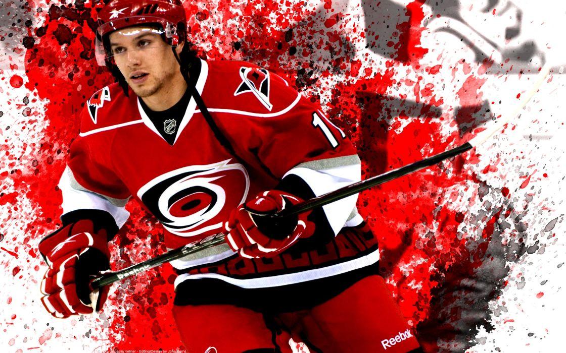hockey Zach Boychuk Carolina Hurricanes wallpaper