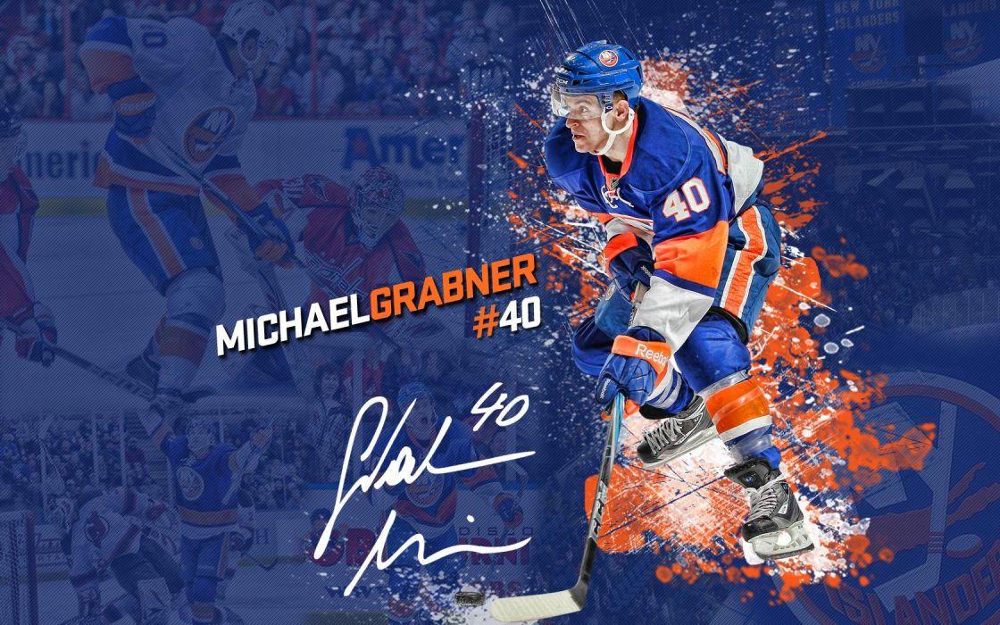 Hockey Michael Grabner New York Islander Wallpaper