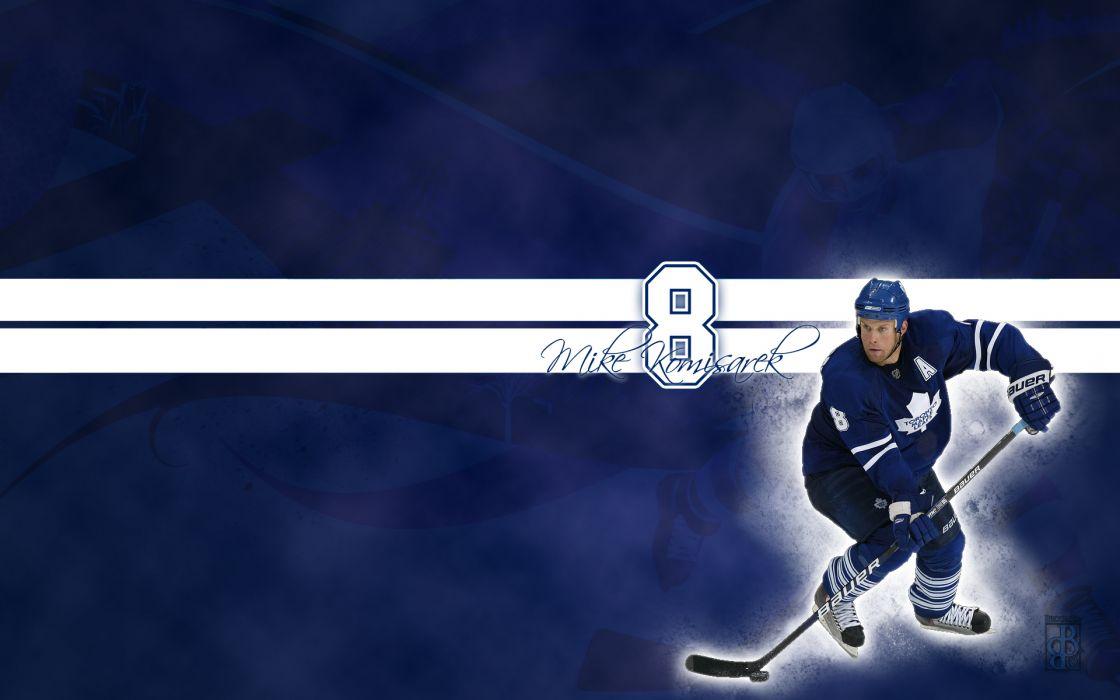 hockey Michael Komisarek Toronto Maple Leafs wallpaper