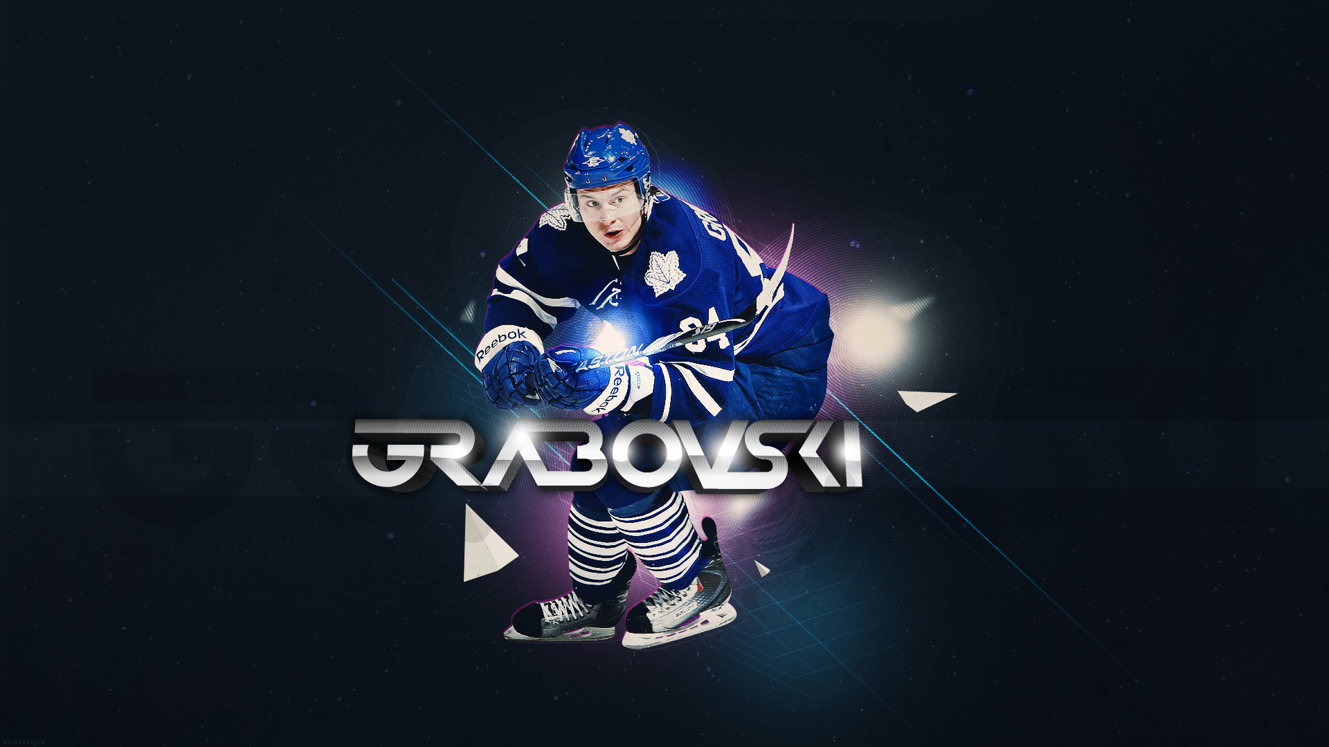 Hockey Mikhail Grabovski Toronto Maple Leafs Wallpaper 1920x1080 128815 Wallpaperup