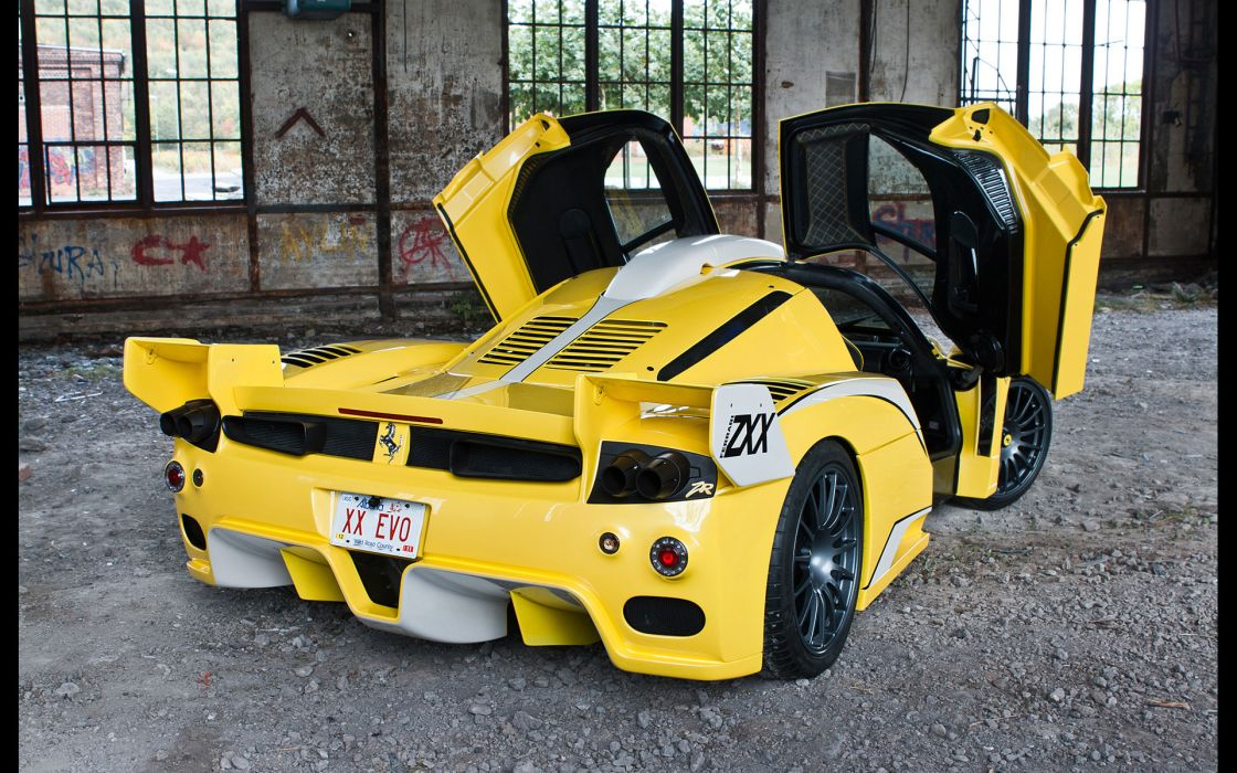2012 Edo Competition Ferrari Enzo Zxx Supercar Supercars Tuning