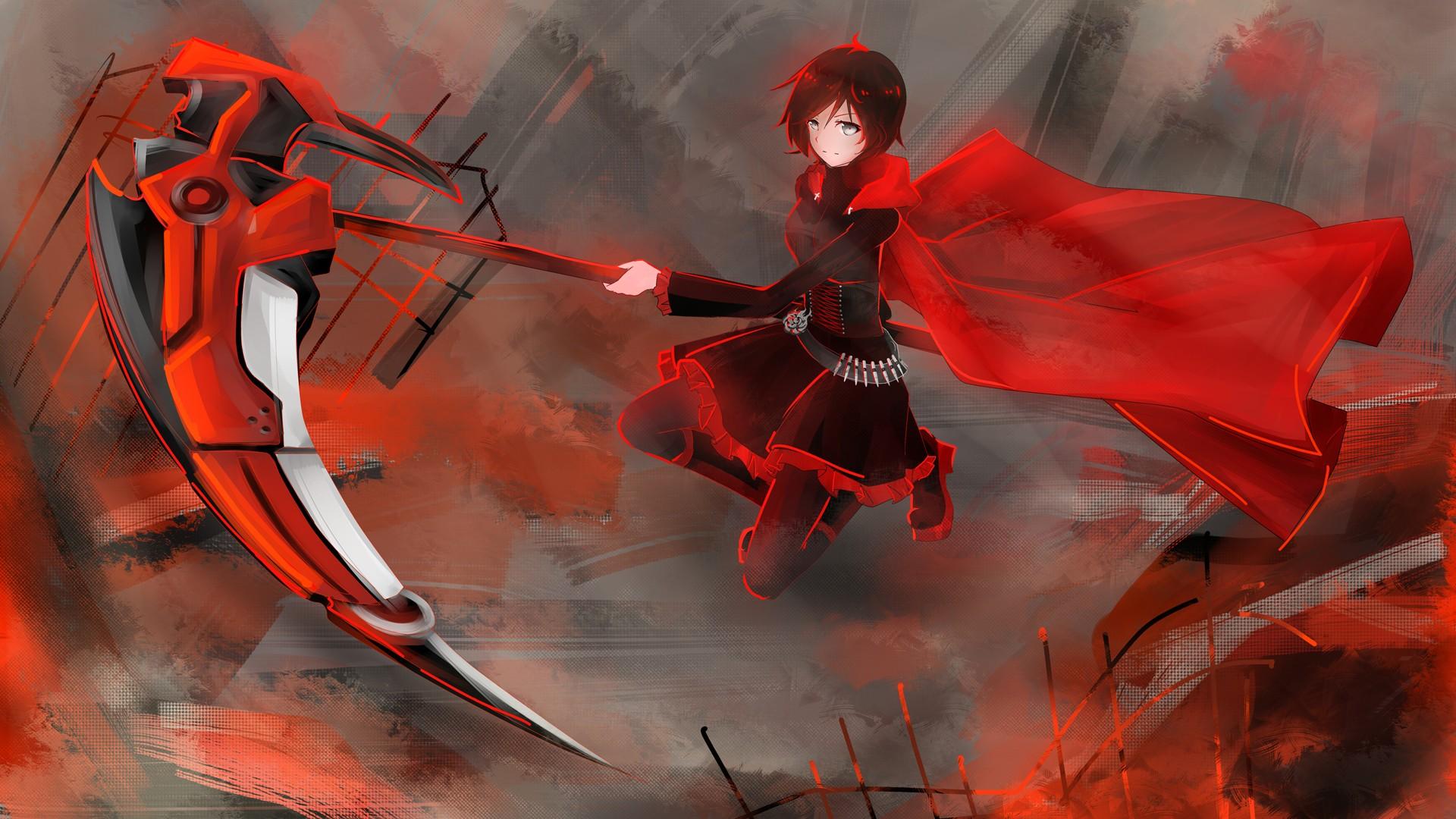 Rwby anime scythe wallpaper 1920x1080 129311 wallpaperup - Anime scythe wallpaper ...