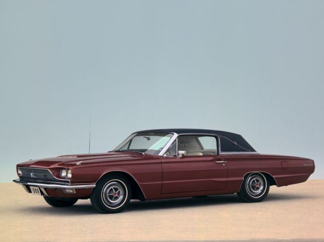 1966 Ford Thunderbird Town Landau Coupe 63D luxury classic g wallpaper