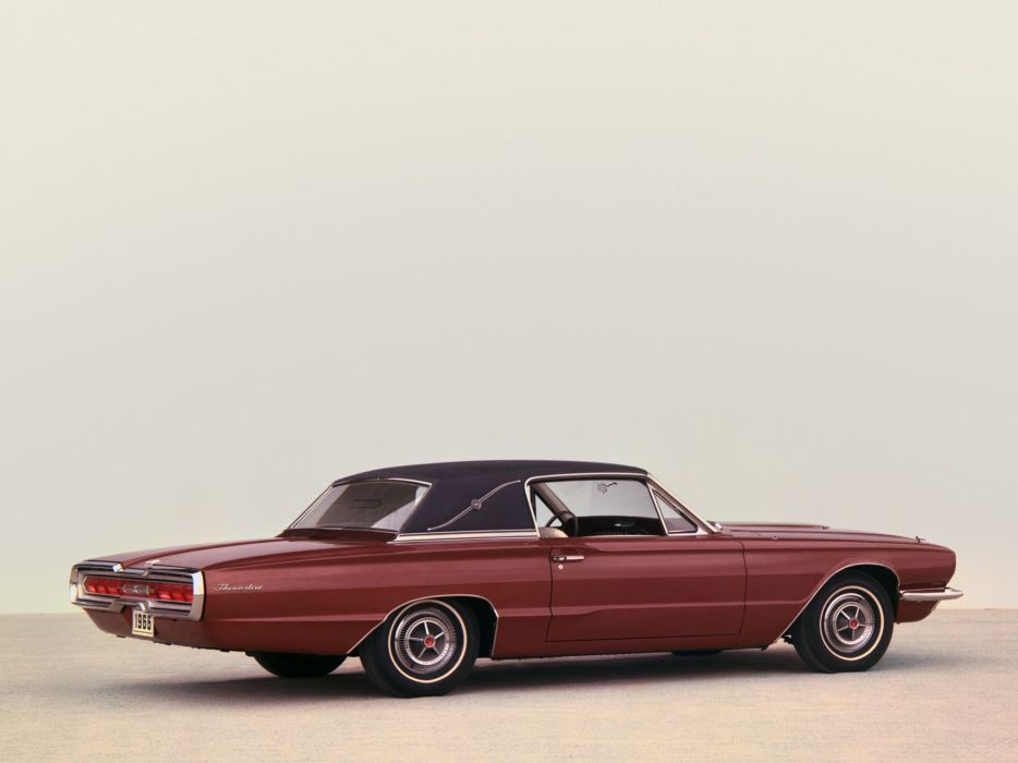 1966 Ford Thunderbird Town Landau Coupe 63D luxury classic wallpaper