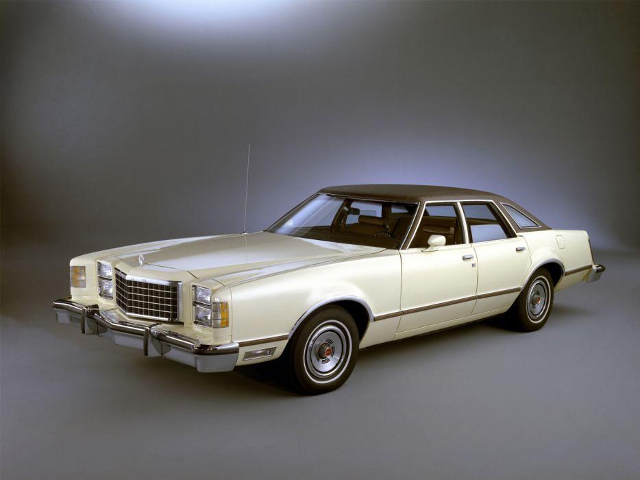1977 Ford LTD II Brougham Pillared Sedan classic wallpaper