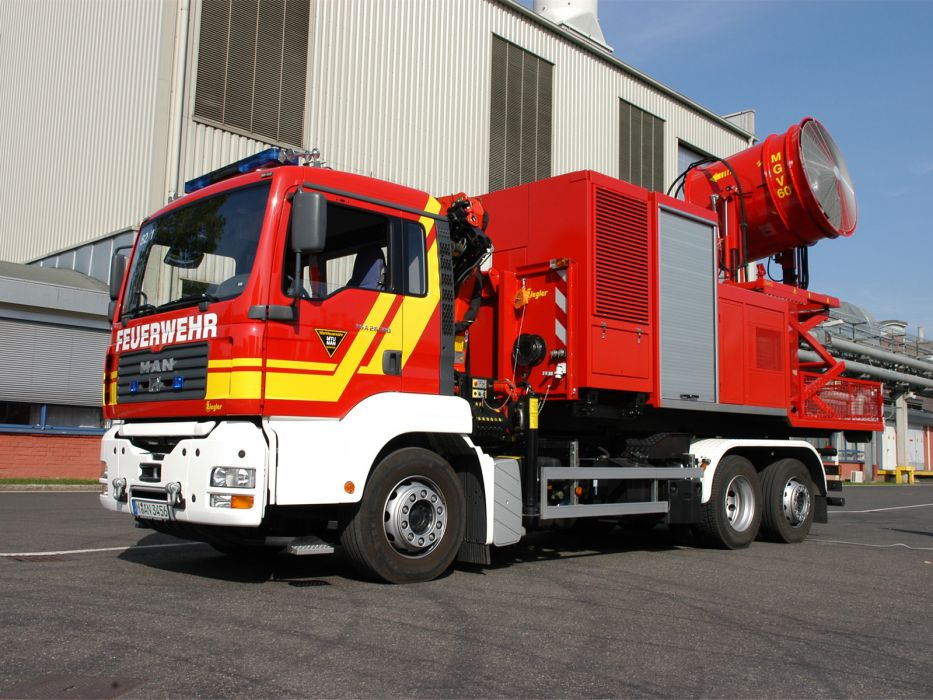 2000 MAN TGA 26-310 Firetruck Ziegler wallpaper
