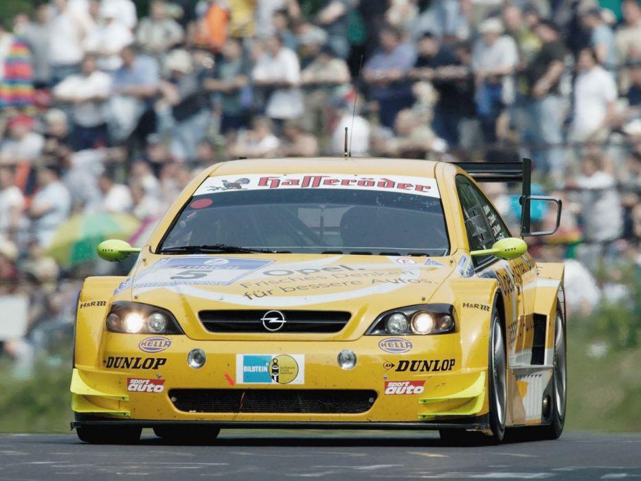 2000 Opel Astra V8 Coupe Dtm Race Racing V 8 G Wallpaper 1600x1200