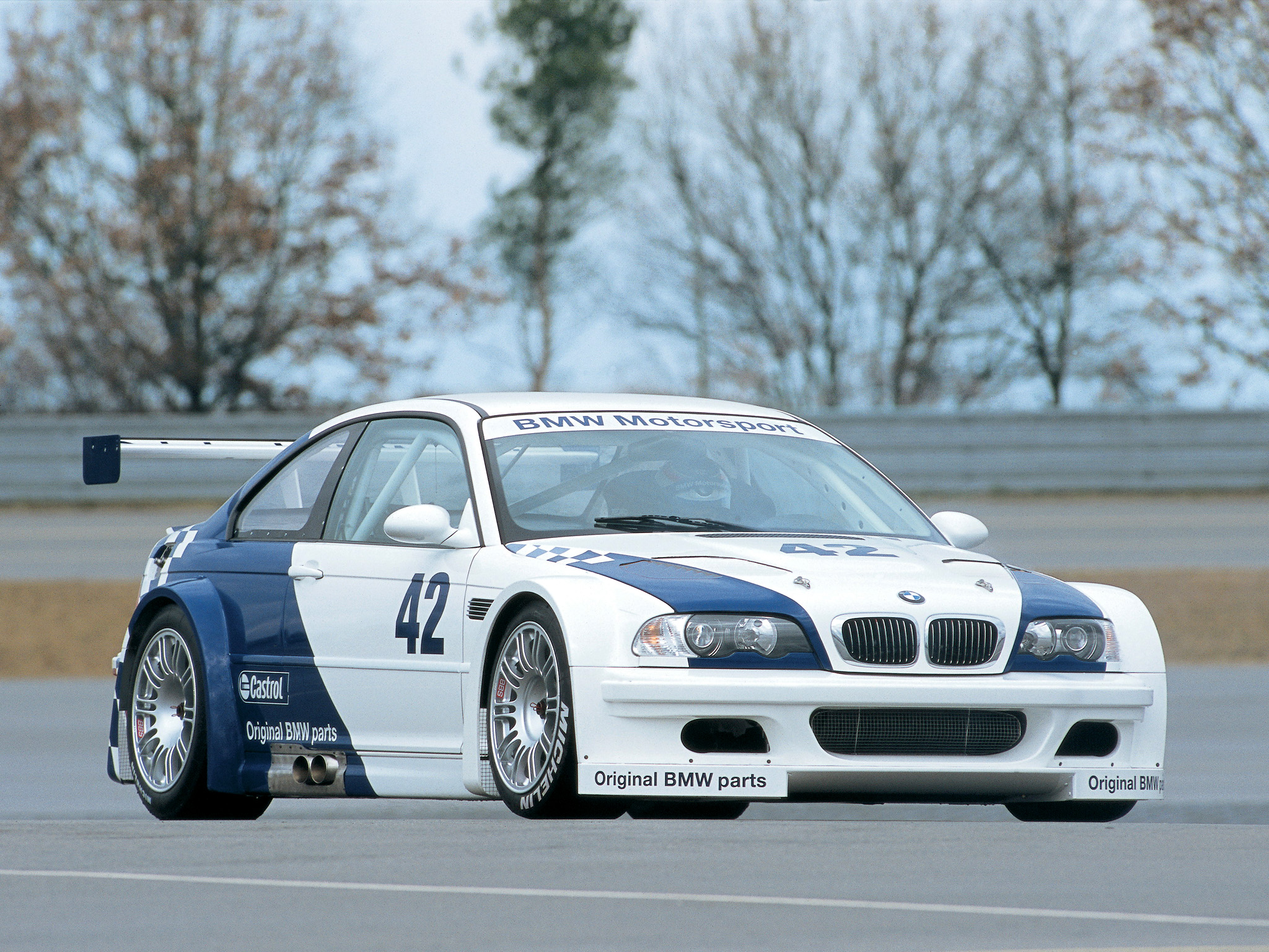 2001 Bmw M3 Gtr E46 Race Racing M 3 F Wallpaper 2048x1536 129504 Wallpaperup