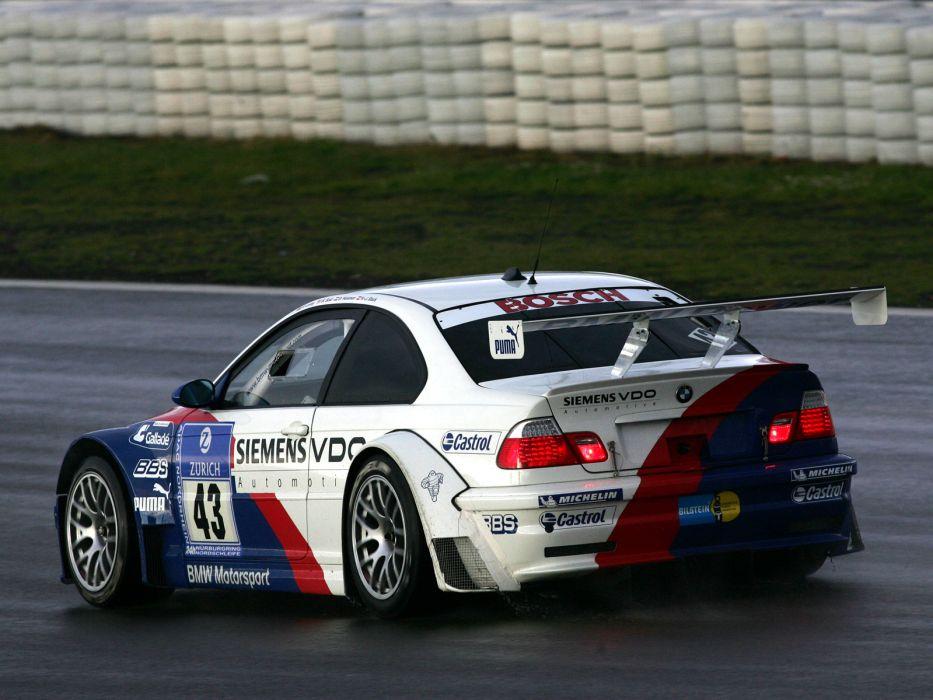 2001 Bmw M3 Gtr E46 Race Racing M 3 G Wallpaper 1600x1200 129506