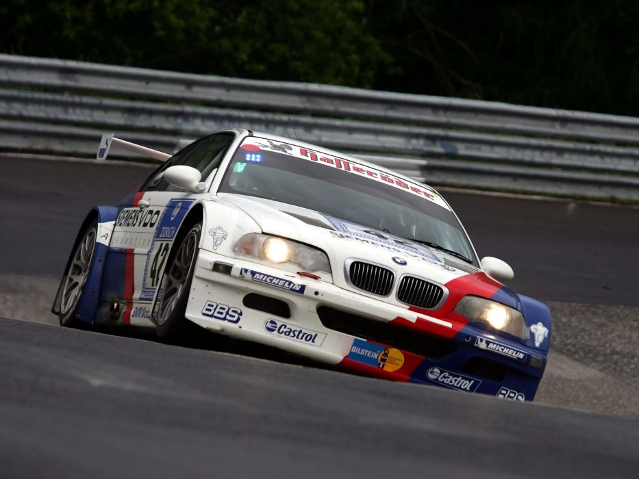 2001 Bmw M3 Gtr E46 Race Racing M 3 F Wallpaper 1600x1200 129510