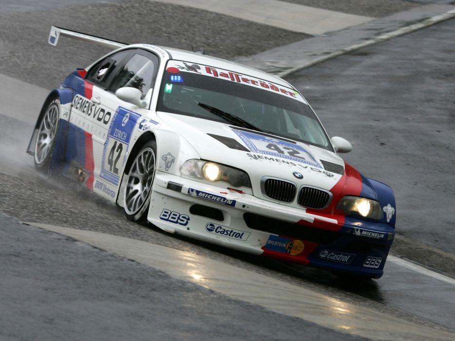 2001 Bmw M3 Gtr E46 Race Racing M 3 Fs Wallpaper 2048x1536