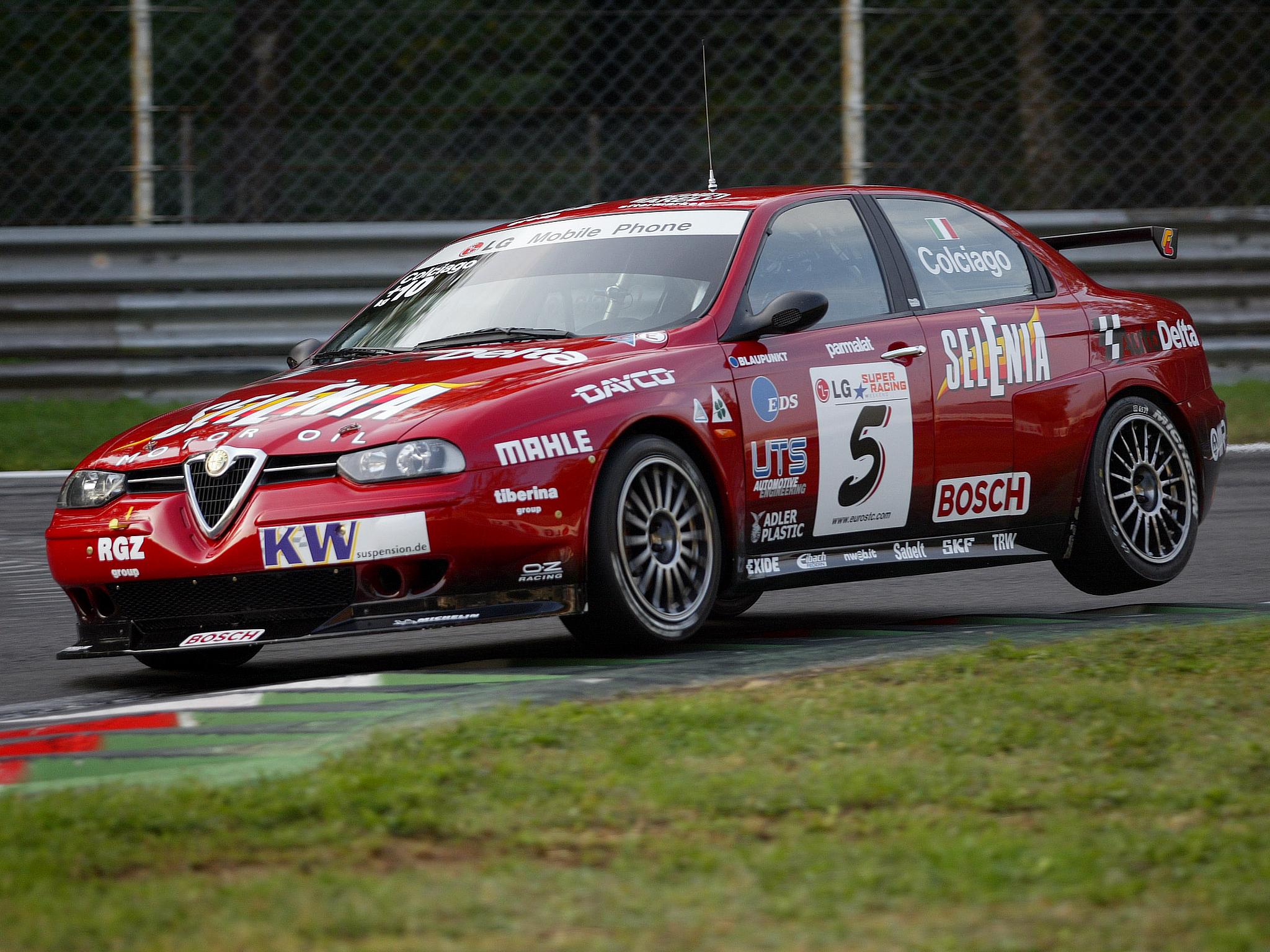 Alfa Romeo 156 Btcc Super Touring Car: 2002 Alfa Romeo 156 GTA Super-2000 SE090 Race Racing G