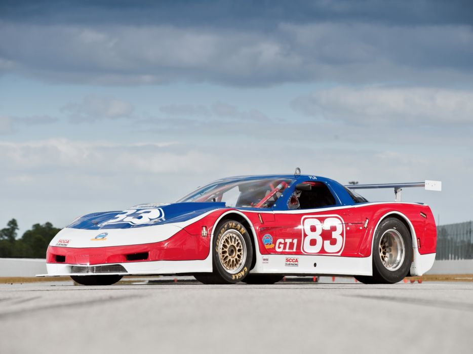 2002 Chevrolet Corvette Riley Scott Racing Car C5 race racing c-5 wallpaper