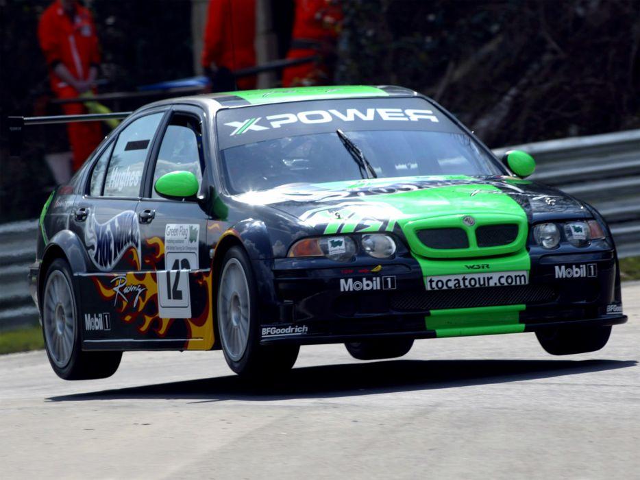 2002 MG ZS XPower race racing m-g z-s wallpaper