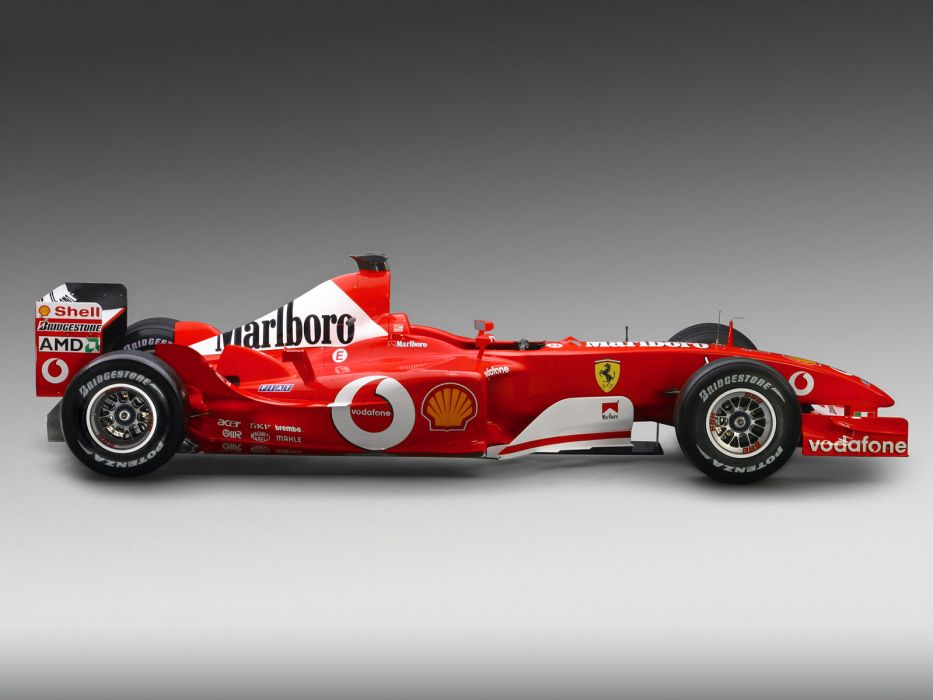 2003 Ferrari F2003-GA formula one f-1 race racing wallpaper