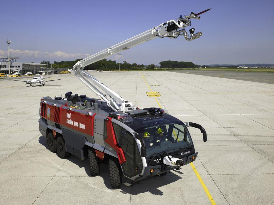 2005 Rosenbauer Panther 12500-1500 MAN S-X 43-1000 8x8 firetruck   f wallpaper