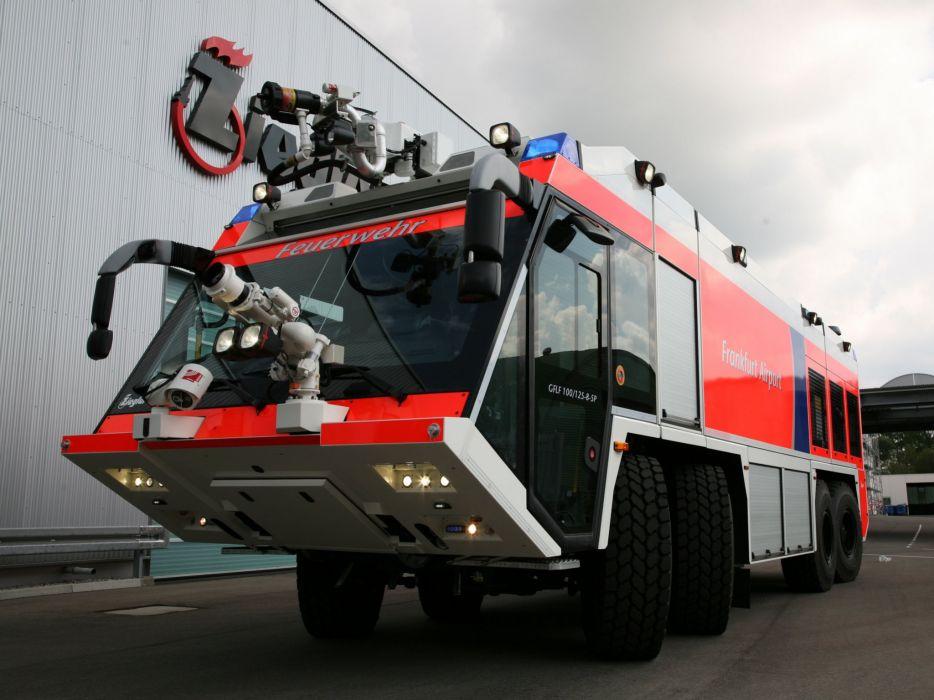 2007 Ziegler Z-8 Airport Feuerwehr firetruck  f wallpaper