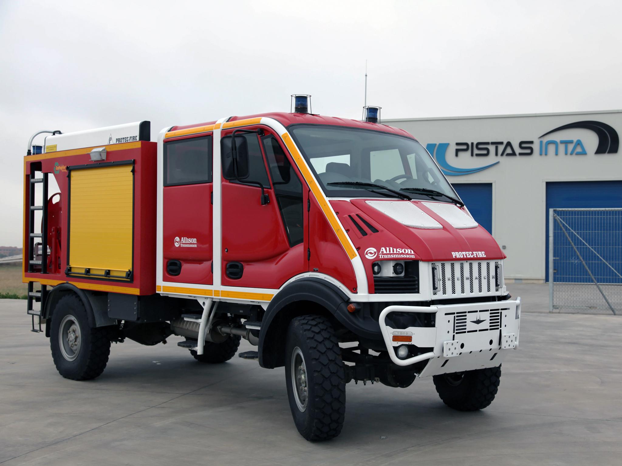 2008 Bremach T-Rex Double Cab Firetruck 4x4 firetruck g wallpaper   2048x1536   129859   WallpaperUP