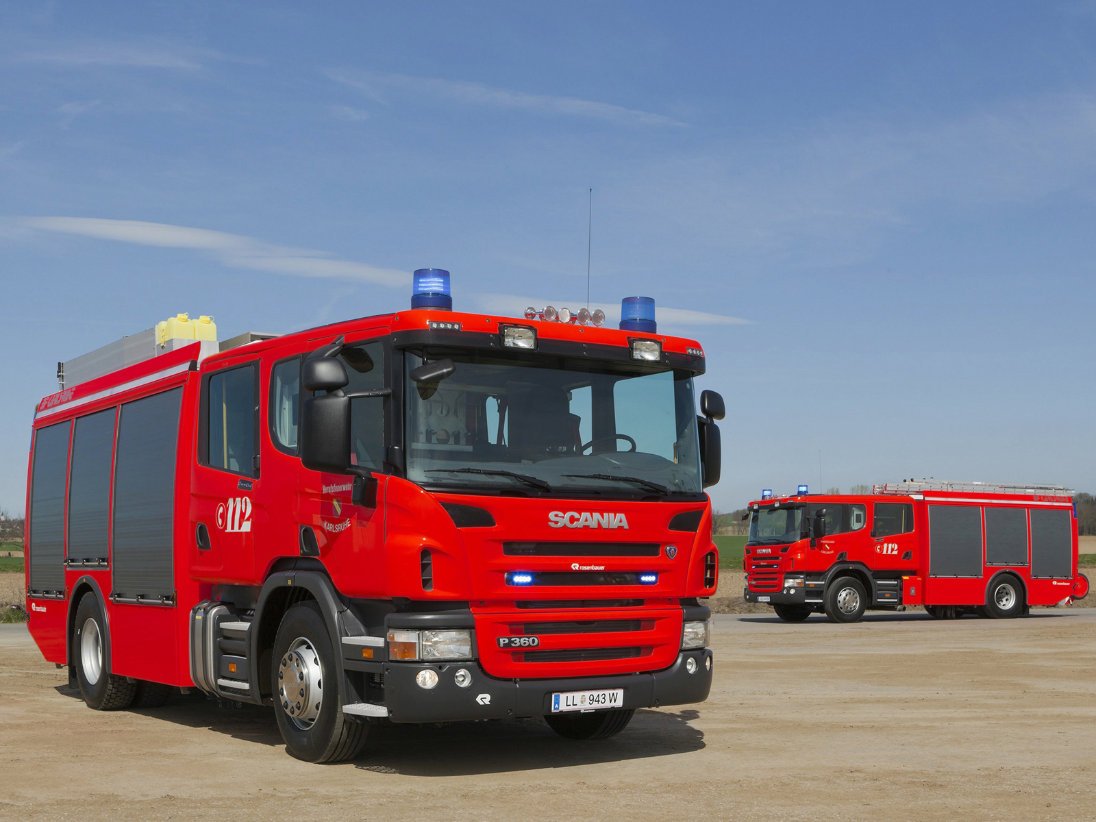 2008 Rosenbauer Scania P360 L