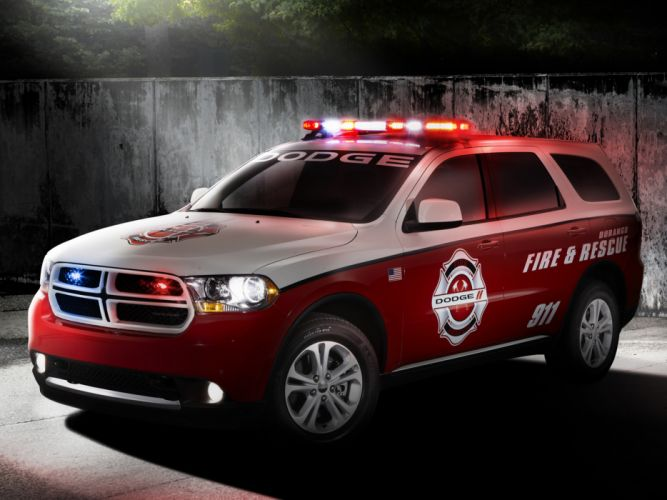 2012 Dodge Durango Fire & Rescue firetruck police wallpaper