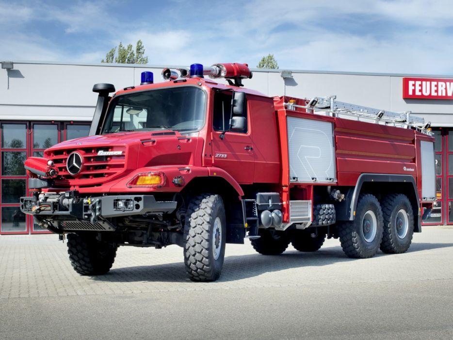 Mercedes 6x6 >> 2012 Rosenbauer Mercedes Benz Zetros 2733 Feuerwehr firetruck 6x6 f wallpaper | 2048x1536 ...