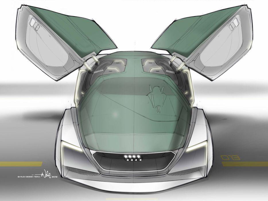 2013 Audi Quattro Shuttle Fleet concept  f wallpaper