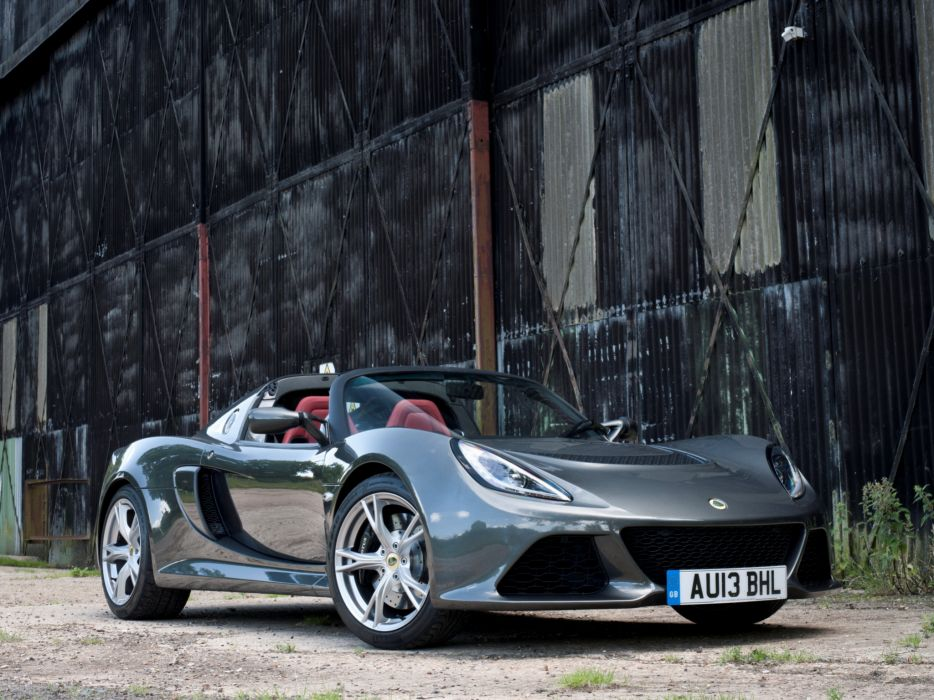 2013 Lotus Exige S Roadster UK-spec supercar supercars   g wallpaper