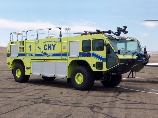 Oshkosh Striker 1500 firetruck wallpaper