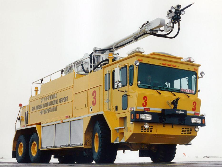 Oshkosh T3000 firetruck d wallpaper