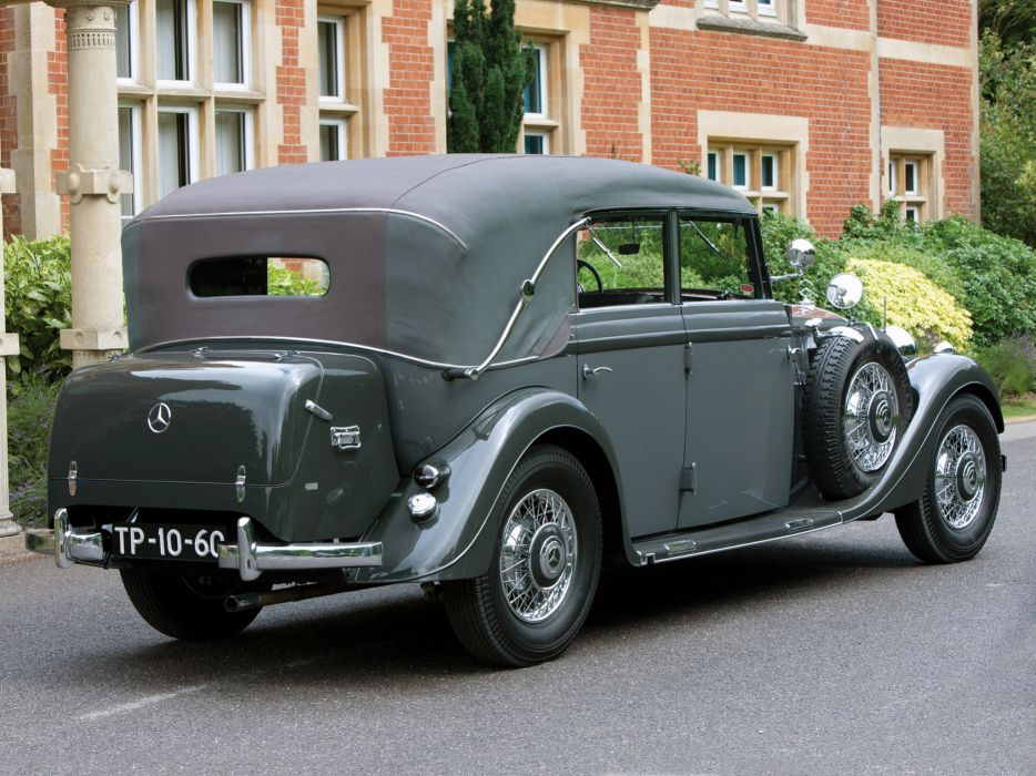 1937 Mercedes Benz 320 Pullman Cabriolet W142 luxury retro   g wallpaper