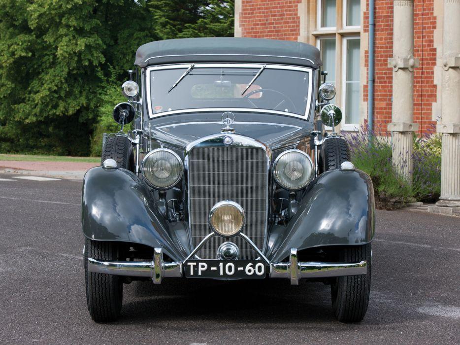 1937 Mercedes Benz 320 Pullman Cabriolet W142 luxury retro   g wallpaper