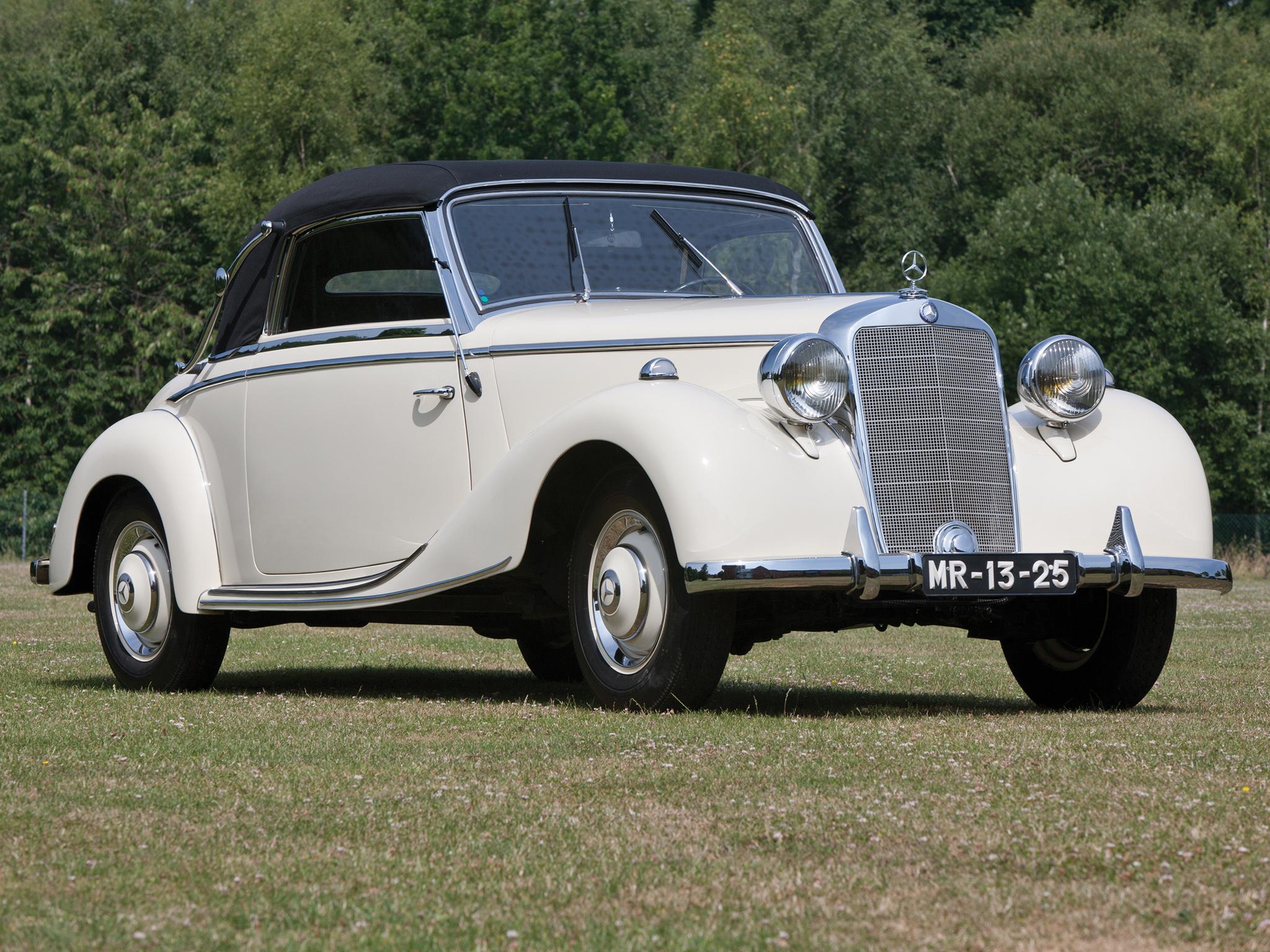 1949 mercedes benz 170 s cabriolet a w136iv retro luxury for 1949 mercedes benz