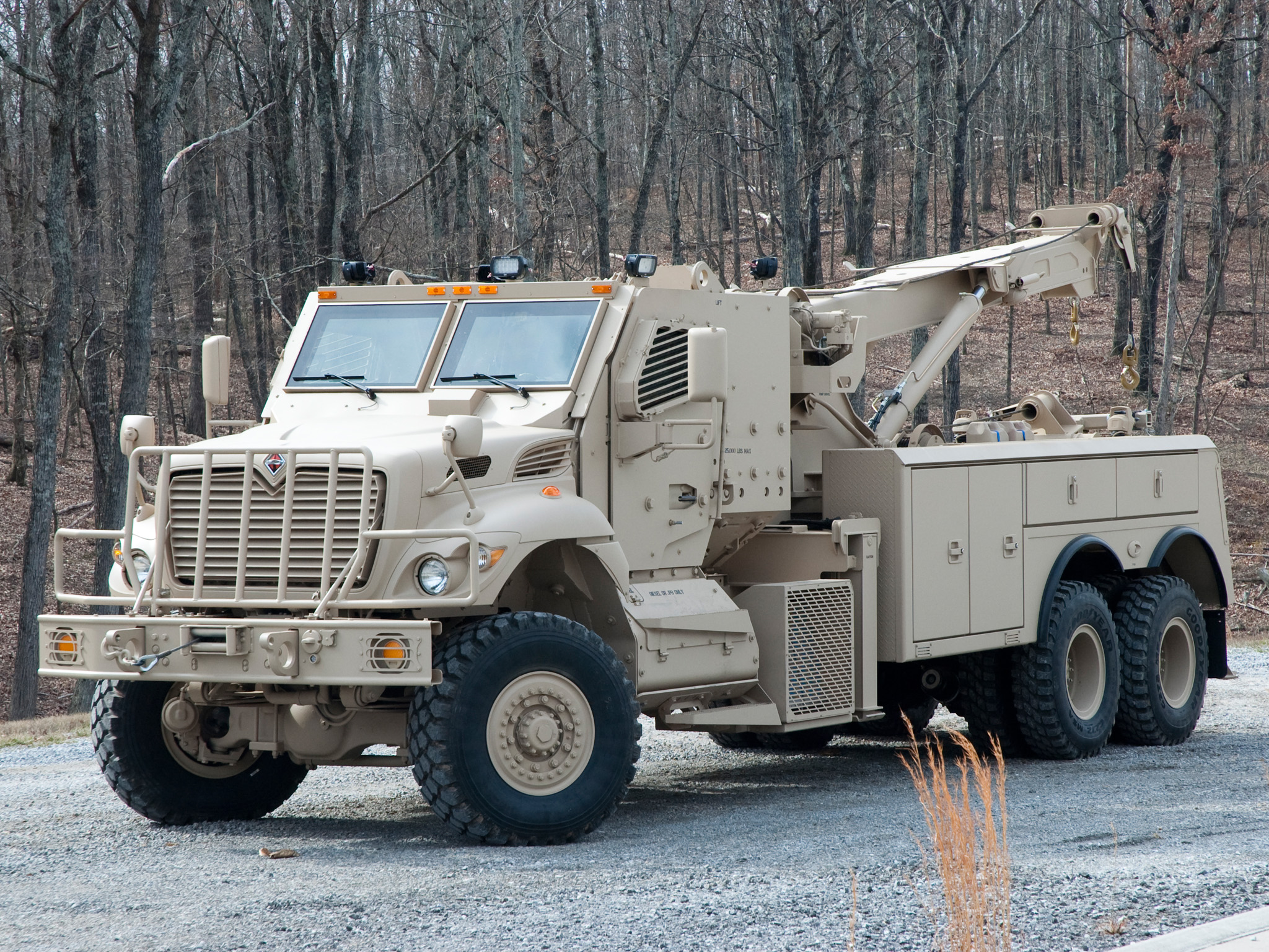 2007 International MaxxPro 6NO6 Wrecker towtruck military ...
