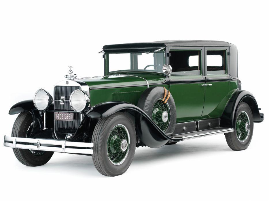 1928 Cadillac V8 341-A Town Sedan Armored retro luxury     g wallpaper