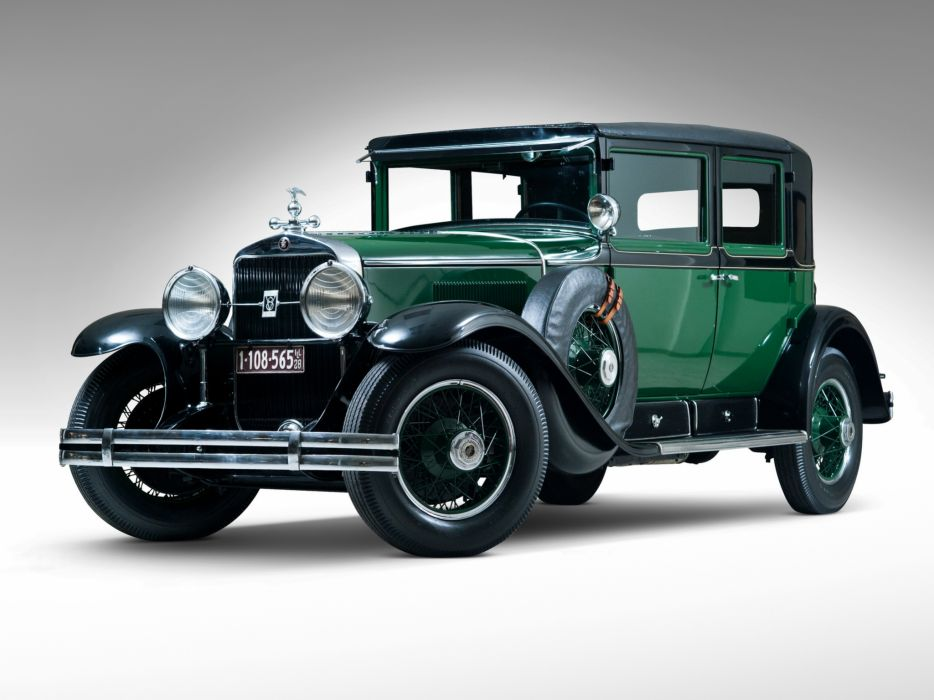 1928 Cadillac V8 341-A Town Sedan Armored retro luxury   gq wallpaper