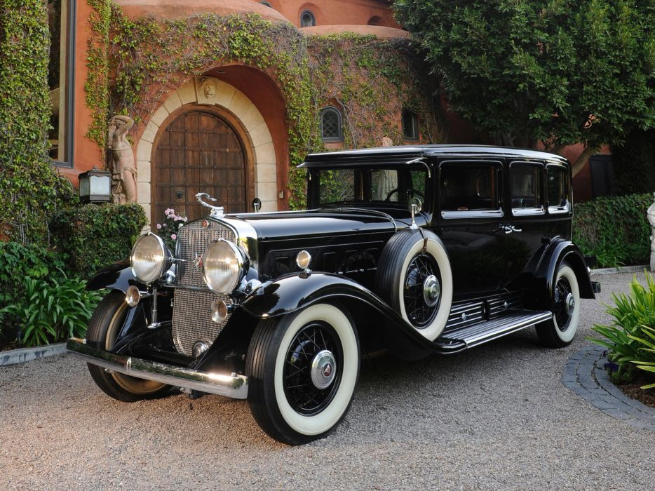 1930 Cadillac V16 452 Armored Imperial Sedan Fleetwood retro luxury   g wallpaper